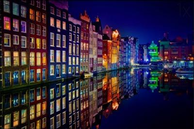 Canal em Amsterdam, Holanda. Foto: Juan Pablo de Miguel