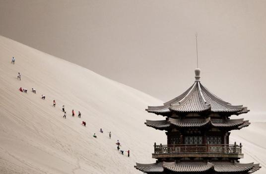 Província de Gansu, na China. Fonte: taringa
