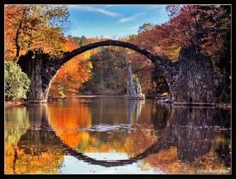 Ponte do Diabo, em Glabenz, Alemanha