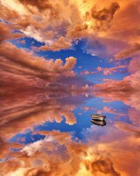 Salar de Uyuni na Bolívia. Fonte: Twitter @MindBlowing